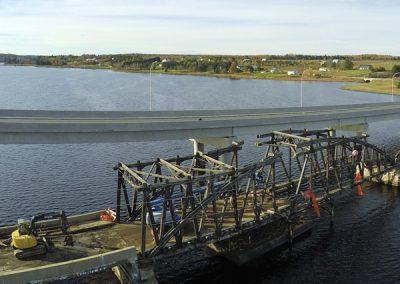 UAV Flyover - Pont Bridge Restoration