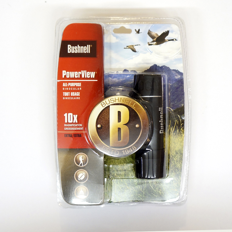 BUSHNELL® POWERVIEW 10X25 COMPACT BINOCULARS